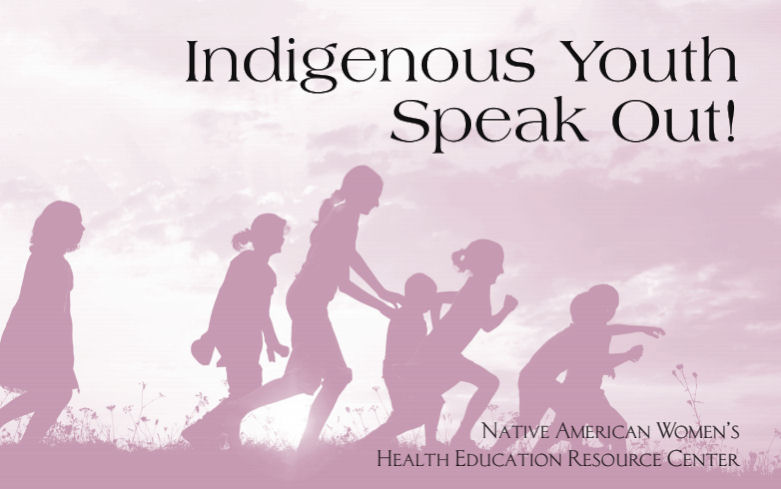 Cover of the Indigenous youth Speak Out November 2015 Report